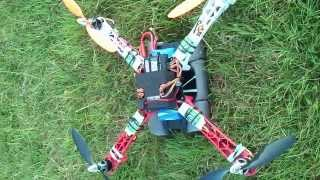 Sony Xperia on  Quadcopter
