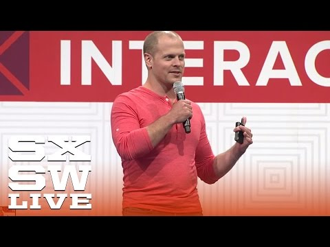 Tim Ferriss: How to Rock SXSW in 4 Hours | Interactive 2015 | SXSW