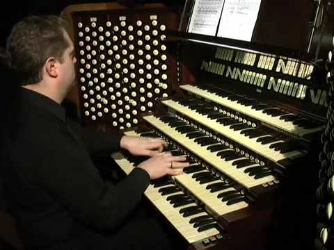 Easter Fanfares by Stephen Tharp played at Saint Patrick Cathedral by the composer