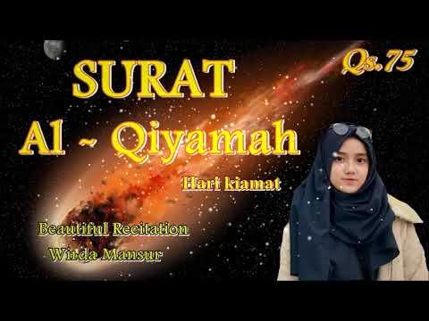 Download Lagu Al Qiyamah ~ Wirda Mansur (putri sulung ust. Yusuf Mansur)