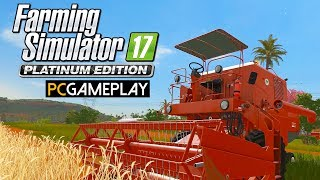 Farming Simulator 17 Platinum Edition Gameplay (PC HD)