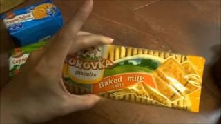 США. Цены на русские продукты, мой заказ из русского магазина в NY.