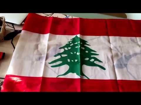 Lebanon Souvenirs - Lebanese Flag, Cedars of Lebanon, Phoenician Figurines
