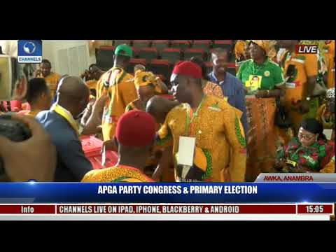 APGA Party Congress & Primary Election Pt.17 | Live Coverage