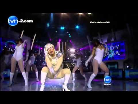 Angie as Lady Gaga (Tu Cara Me Suena Panama 2013)