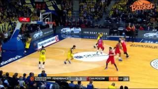 Fenerbahçe 77-71 CSKA Moskova (tebrikler fenerbahçe)