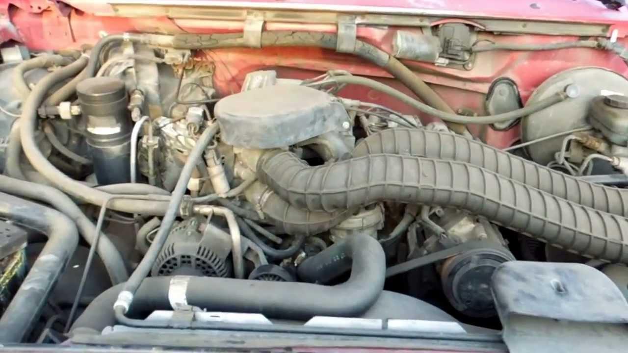 1994 Ford F150 58L EFI EGR Valve Location  YouTube