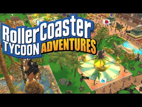 It's time to relax! Rollercoaster Tycoon Adventures - Adventure Mode -  Nintendo Switch