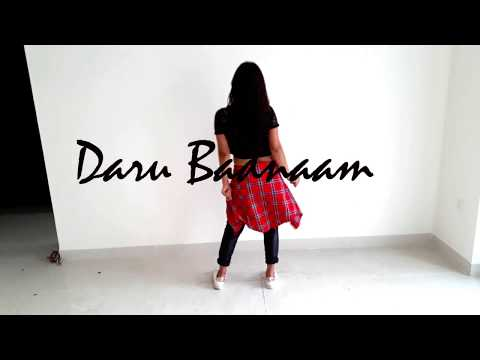 DARU BADNAAM | Dance Video | Covered by - Manisha_momoss