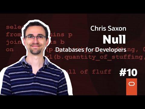 Null: Databases For Developers #10