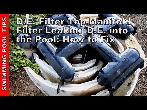 cleaning-a-d.e.-filter-top-manifold-(jandy,-fns,-hayward,-titan)-d.e.-leaking-into-pool