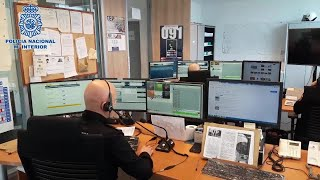La Policía Nacional ha triplicado el número de llamadas diarias al Centro Inteligente de Mando