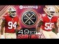 Madden 18 San Francisco 49ers Connected Franchise | Season 1 Week 1 vs. The Carolina Panthers