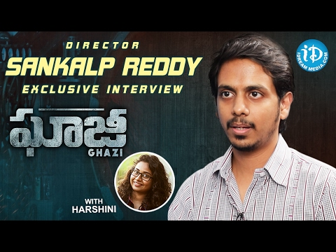 Ghazi Movie Director Sankalp Reddy Exclusive Interview | Talking Movies With iDream #304