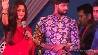 khokababu Pratik Sen & Trina Saha live stage dance show | dance hungama | Trina Saha