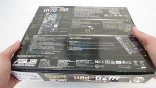asus H170 PRO Motherboard CPU i3 i5 i7 LGA1151 Intel DDR4 DVI VGA HDMI USB 3.1