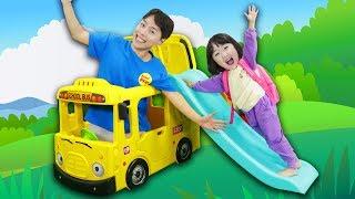 영어 인기 동요 버스송 The Wheels On The Bus - Nursery Rhymes song for Kids by Mashu 마슈토이