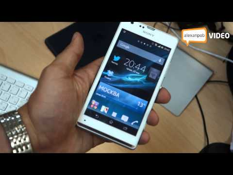 Обзор Sony Xperia SP