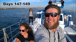 147-149 PCT - Dolphin Watching,  Tori Amos Concert and back on the PCT