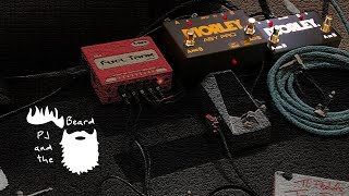 The Morley ABY Selector/Combiner, ABY Pro Selector, & a Behind the Scenes Look @ our Show Pedalboard