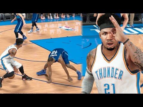 NBA 2k17 MyCAREER - Birthday Triple Ankle Breakers! Contact Cradle Posterizer! Ep. 152