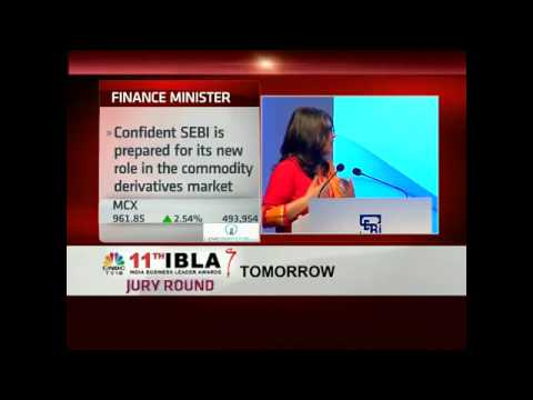 Confident SEBI Is Prepared For Its New Role Post Merger With FMC: Fin Min - Sept 28