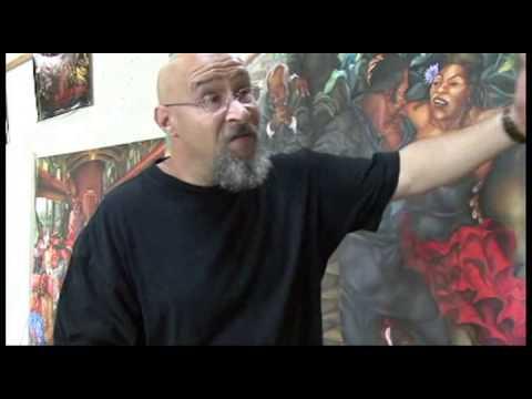 Rick Freeman, Narrative Painter