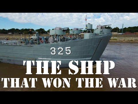 USS LST 325 - The Ship that Won the War (4K)