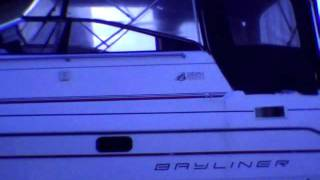 1990 Bayliner 2651 Ciera Sunbridge. Part 1. Pulling boat.