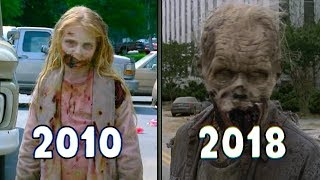 Evolution of Zombies  in The Walking Dead | 2010 - 2018 (Walkers)