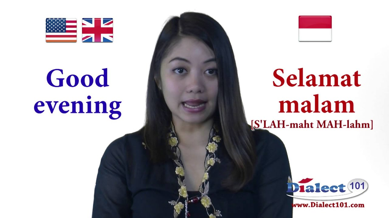 How to speak in indonesian common greetings youtube how to speak in indonesian common greetings m4hsunfo