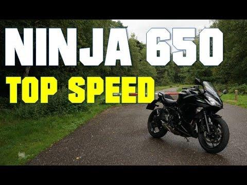 Kawasaki Ninja 650 Top Speed 35kw A2 Youtube