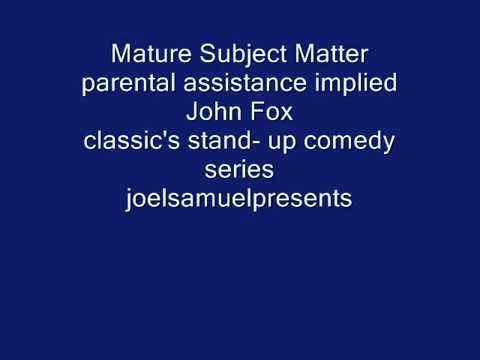Stand Up Comedy Greats 1985 - John Fox RIP -  joelsamuelpresents