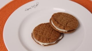 Cream Filled Ginger Cookies Recipe - Laura Vitale - Laura In The Kitchen Episode 469