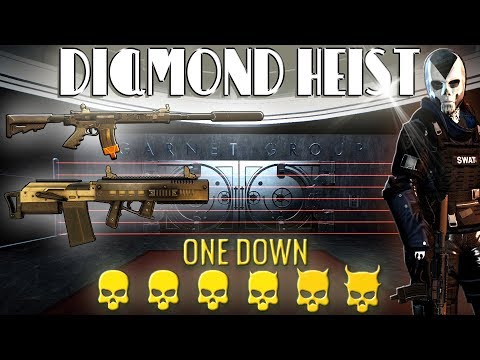 [Payday 2] Diamond Heist - One Down *Solo Loud* [No AI/Converts/Assets/Downs]