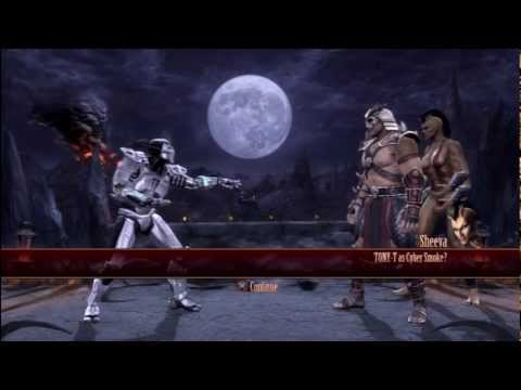 MK9 CHRONICLES OF SMOKE COMBO VIDEO. INTRODUCING CYBER SMOKE!