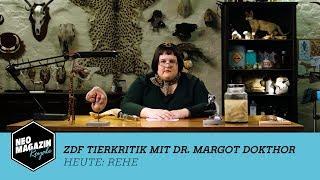 Die ZDF Tierkritik mit Dr. Margot Dokthor: Rehe | NEO MAGAZIN ROYALE mit Jan Böhmermann - ZDFneo