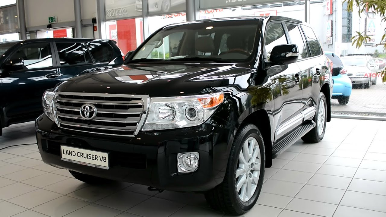 2015 New Toyota Land Cruiser V8 - YouTube