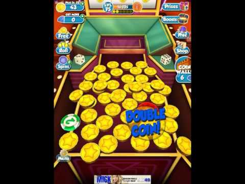 Coin Dozer Casino! Tons of coins and a puzzle piece!