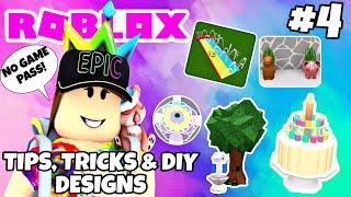NO GAME PASS BUILDING HACKS & MORE!! Roblox   Bloxburg Tutorial   TTDD #4
