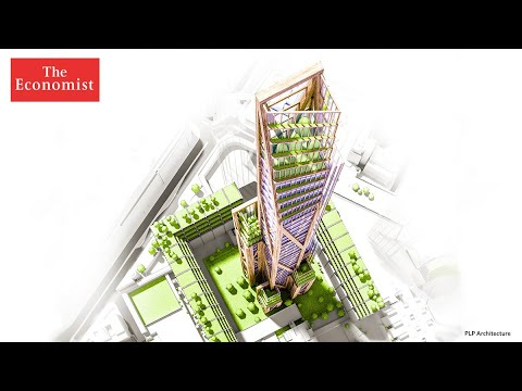 Wooden skyscrapers could be the future for cities   The Economist