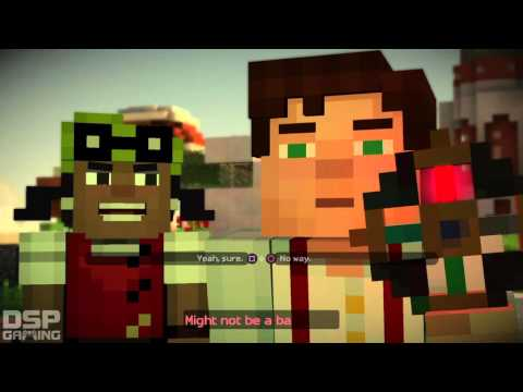Minecraft Story Mode Ep.2 playthrough pt1 - Find Ellegaard!/Filthy Thieves