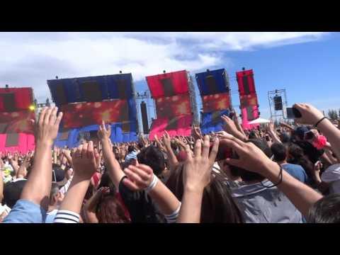 "KHSMR Creamfields CHILE 2016 Remix ""Quilapayún"" & ""TOCA"""