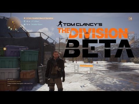 Tom Clancy's The Division - Open Beta PC.
