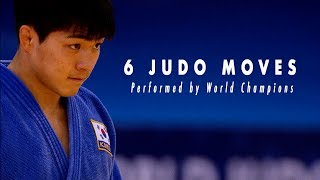 Gambar cover 6 Judo moves performed in finals by World Champions