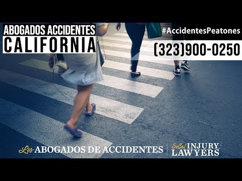 Abogados de Accidentes de Peatones en California