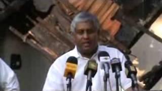 Mahinda Rajapaksa gave money to LTTE - Tiran - P1