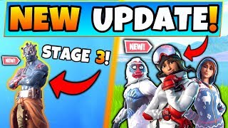 Fortnite PRISONER STAGE 3 + *NEW* SKINS for Share the Love Event! (Battle Royale Update)