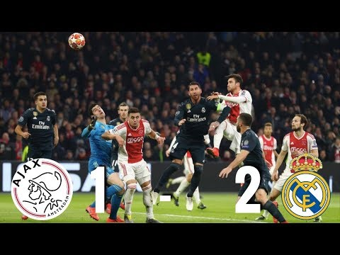Ajax vs Real Madrid [1-2], Champions League 2019, Round of 16 - MATCH REVIEW Mp3