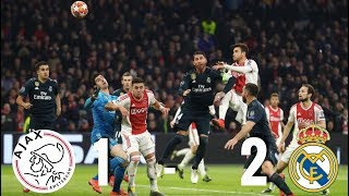 Ajax vs Real Madrid [1-2], Champions League 2019, Round of 16 - MATCH REVIEW